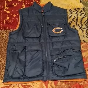 Boys Puma (Bears) fleece lined vest